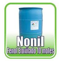 nonilfenol etoxilado | es un surfactante no ionico soluble en agua compatible con jabones y surfactantes anionicos de accion detergente.