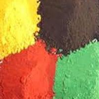 oxido de hierro | oxido de cromo | son de elevada resistencia a luz y a la intemperie.